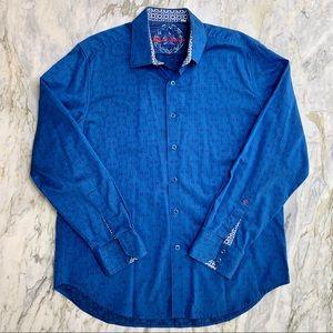 ROBERT GRAHAM Cullen Button Down Long Sleeve Shirt